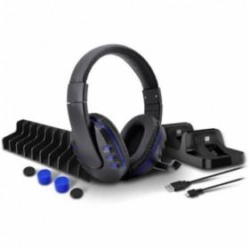Dobe 5in1 PS4 Şarj Standı, Analog Koruyucu,Kulaklık,Oyun Standı