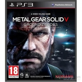 Metal Gear Solid V Ground Zeroes Ps3 Oyunu Orijinal - Kutulu Playstation 3 Oyunu