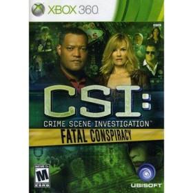 Csı Crıme Scene Investıgation Fatal Conspıracy -  Xbox 360 Oyunu