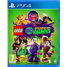 Lego DC Super Villains Playstation 4 Orijinal Sıfır Kutulu Ps4 Oyunu