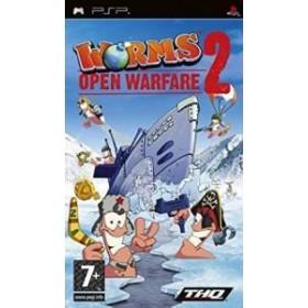 Worms Open Warfare 2 Orijinal - Kutusuz Sony Psp Oyunu