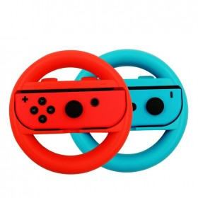 Nintendo Switch Joy - Con İkili Direksiyon Aparatı Mavi Kırmızı