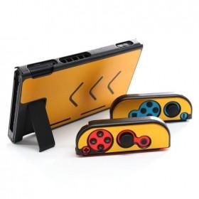 Nintendo Switch Metalik Altın Gold Koruyucu Sert Kılıf