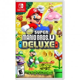 Nintendo Switch New Süper Mario Bros Deluxe Oyun
