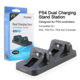 Playstation 4 - Ps4 Pro - İkili Kol Şarj İstasyonu - Dobe
