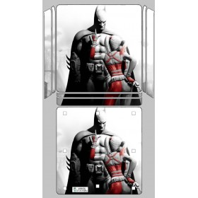 Ps4 Slim Sticker Batman Harley Quınn - Playstation 4 Slim Kaplama
