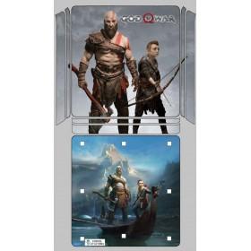 Ps4 Slim Sticker God Of War - Playstation 4 Slim Vinil Kaplama