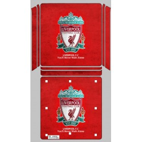 Ps4 Slim Sticker Liverpool - Playstation 4 Slim Vinil Kaplama