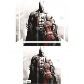 Ps4 Standart Kasa Sticker Batman Harley Quınn Playstation 4 Kaplama