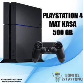 Sony Playstation 4 Mat Kasa 500 Gb - 2 Orijinal Kol - Fifa 19