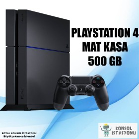 Sony Playstation 4 Mat Kasa 500 Gb - Ücretsiz Kargo