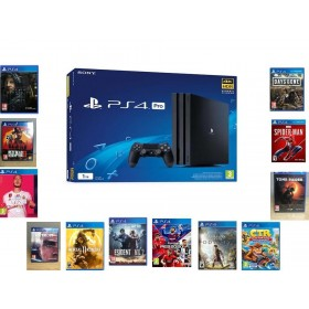 Sony Playstation 4 Ps4 Pro Exclusive 1 Tb - Bol Oyunlu (Cuh-7216b Sıfır Ürün)