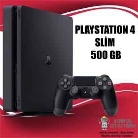 Sony Playstation 4 Slim 500 Gb + 1 Orijinal Kol (TEŞHİR ÜRÜNÜ)