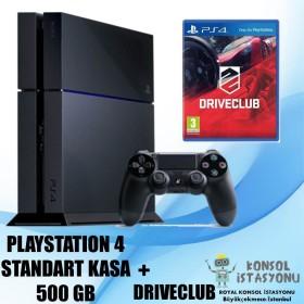 Sony Playstation 4 Standart Kasa 500 Gb + Driveclub