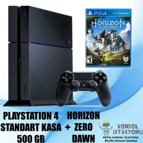 Sony Playstation 4 Standart Kasa 500 Gb + Horizon Zero Dawn