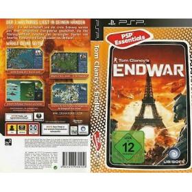 Tom Clancy's End War  Kutulu Orijinal Sony Psp Oyunu