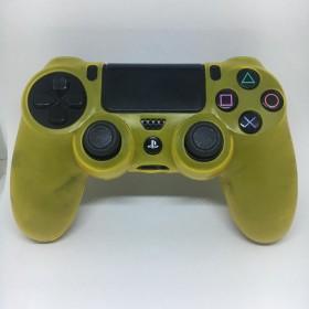 Turuncu Playstation 4 Ps4 Kol Kılıfı - Dualshock 4 Kılıf Şeffaf