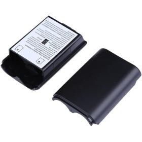 Xbox 360 Kumandası İçin Pil Kapağı - Pil Yuvası - Siyah